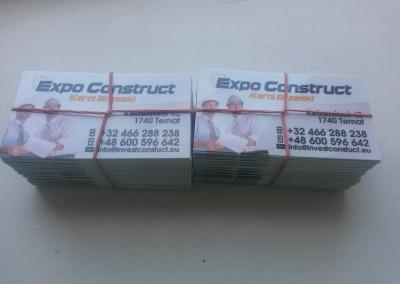 wizytówki firma budowlana