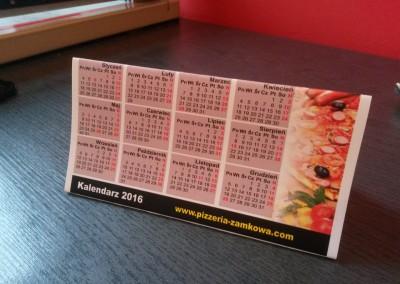 kalendarze na biurko