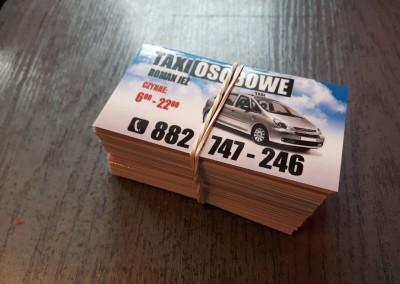 taxi wizytowka