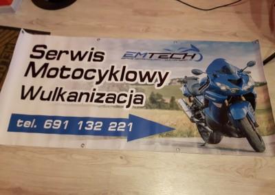 baner motocykle