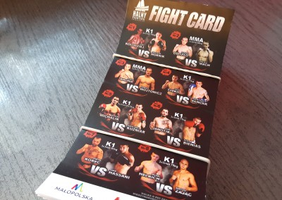 fight card halny