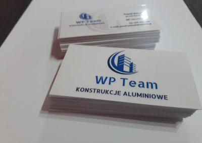 wizytówki konstrukcje aluminiowe