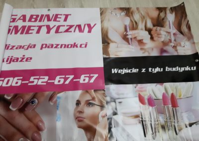 baner gabinet kosmetyczny