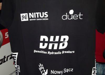 koszulki dla sportowców