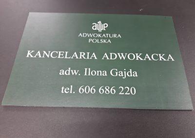 kancelaria adwokacka tabliczka