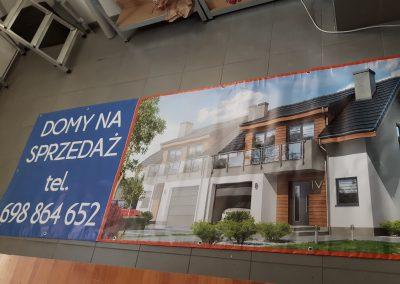 baner sprzedaż domów