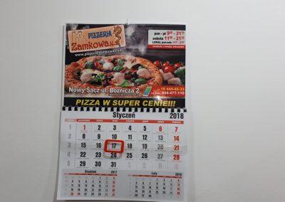 kalendarz pizzeria
