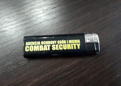 zapalniczki dla firmy ochroniarskiej