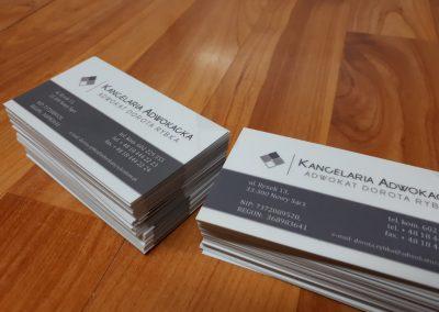 wizytówki adwokat