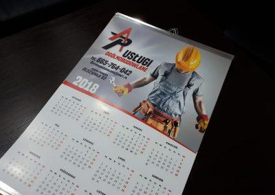 kalendarz listwowany