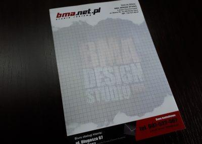 papier firmowy bma