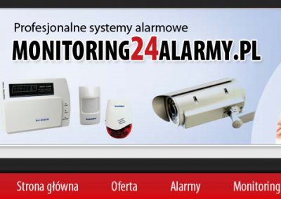 MONITORING 24 ALARMY