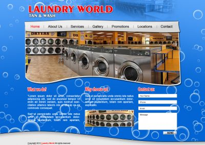 LAUNDRY WORLD