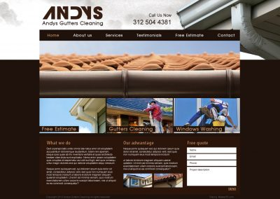 ANDYS GUTTERS CLEANING
