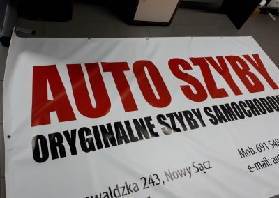 auto szyby baner
