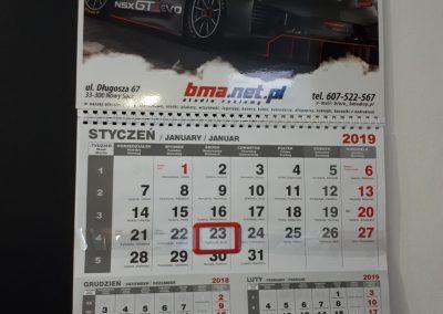 bma kalendarze