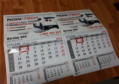 now tech kalendarze