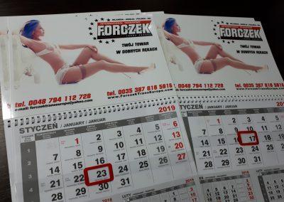 kobieta kalendarz