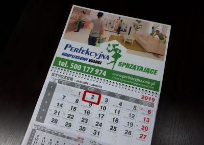 sprzątanie kalendarz