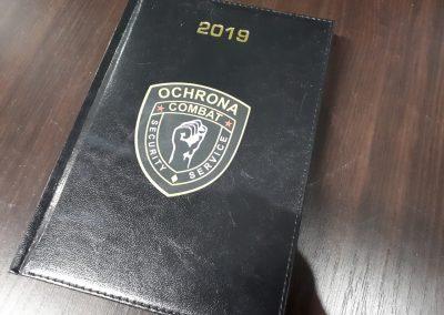 ochrona kalendarz książkowy