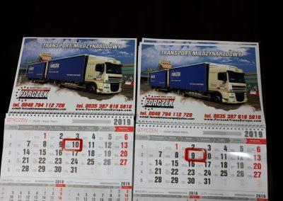 transport kalendarze