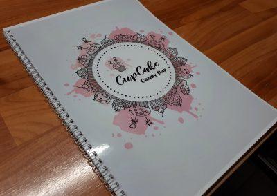 candy bar folder