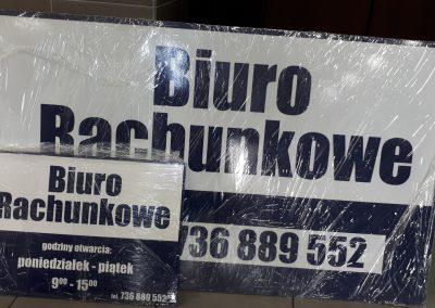 biuro rachunkowe szyldy reklamowe