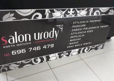 salon urody szyld reklamowy