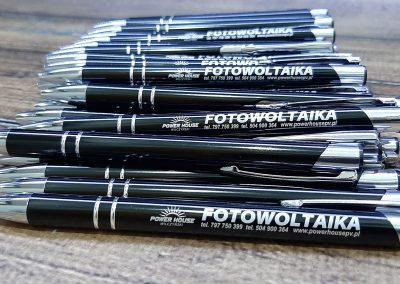 fotowoltaika długopisy reklamowe