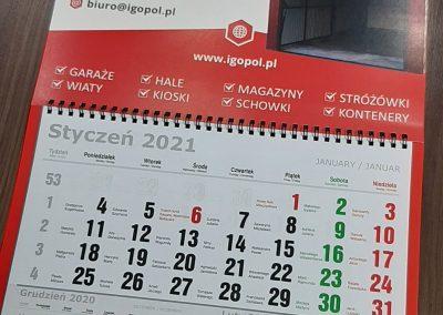 garaże blaszane kalendarz