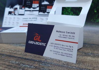 geo-logistic wizytówka