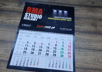 kalendarze nowy sacz