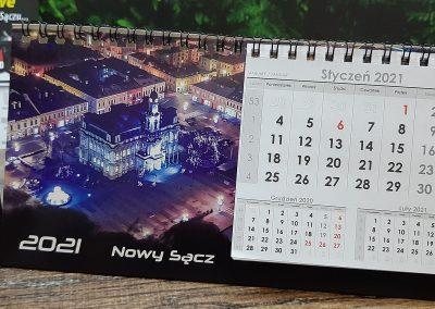 kalendarze biurkowe nowy sącz
