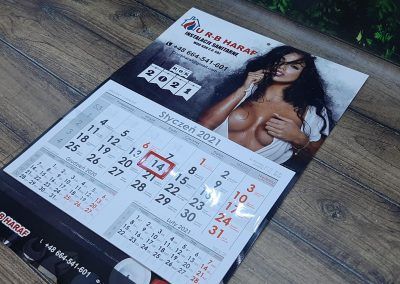 kalendarz jednodzielny nowy sącz