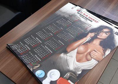 kalendarze plakatowe nowy sącz