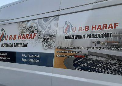 U R-B HARAF oklejanie samochodów