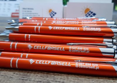 cellforsell baner  długopisy reklamowe