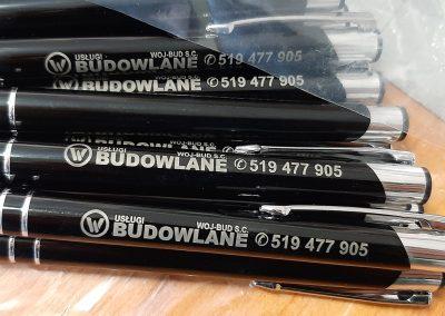 uslugi budowlane długopisy reklamowe