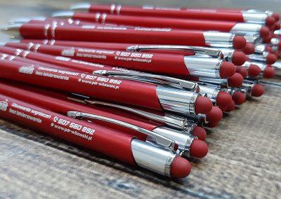 usuwanie wgnieceń długopisy reklamowe
