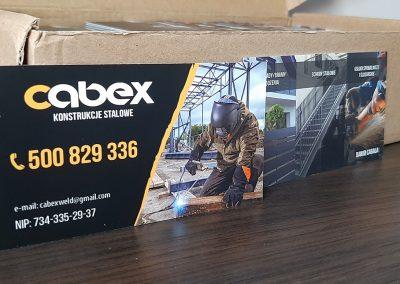 CABEX wizytówki