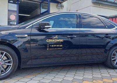 CZAJKOWSKI oklejanie samochodów