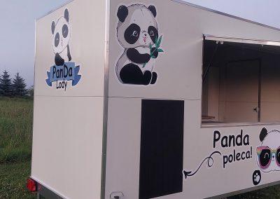 PANDA POLECA oklejanie samochodów